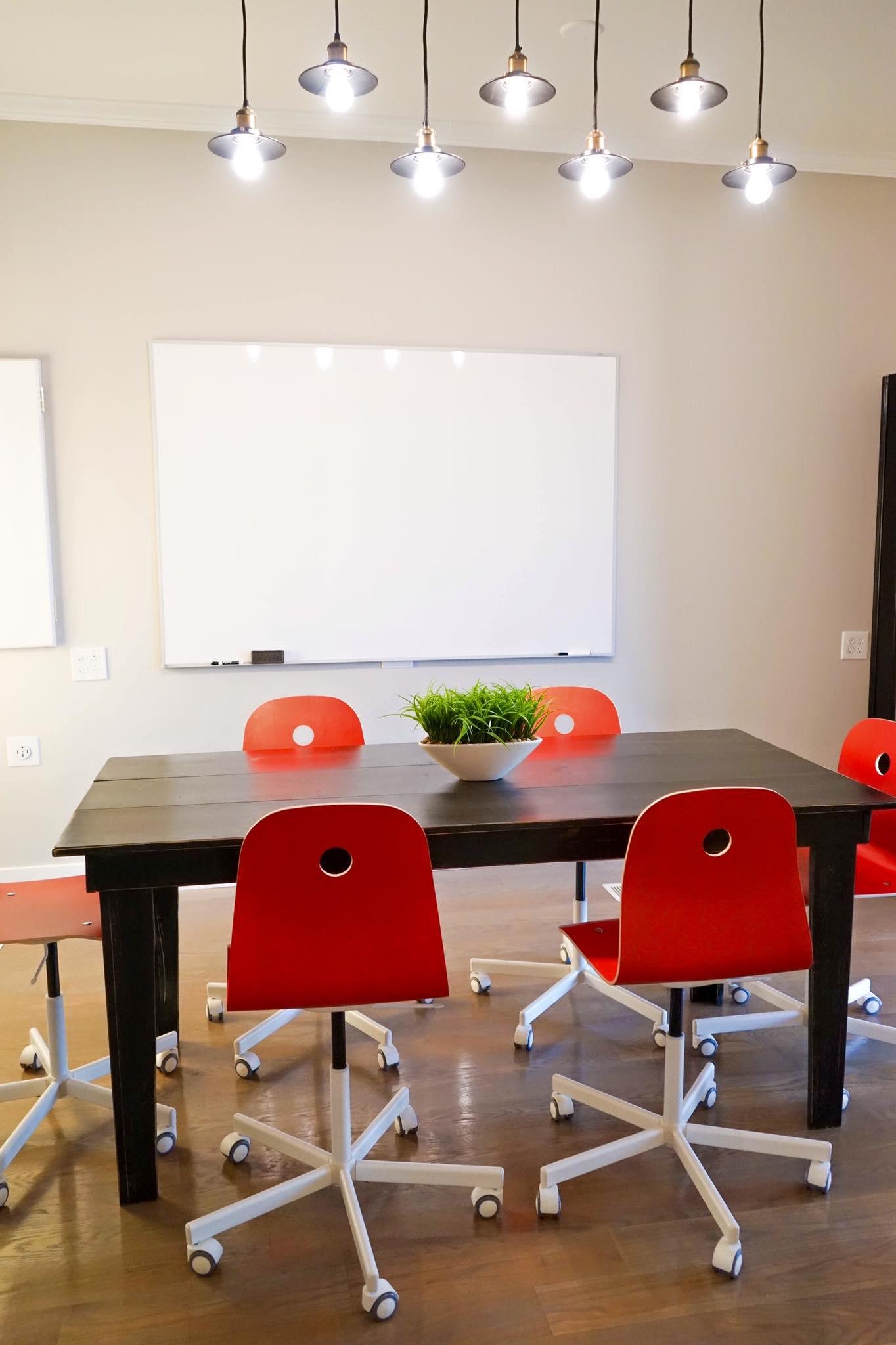 Parachute Media Brainstorming Room