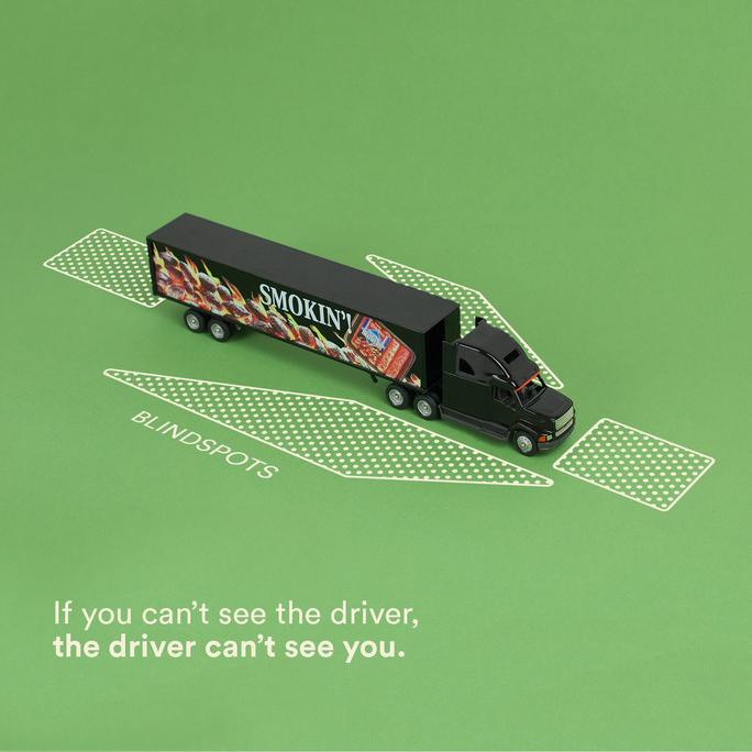 Truck Driver Blindspots