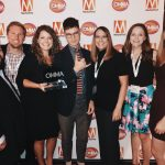 The UMG Nashville team at the 2017 OMMAs.
